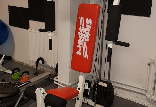 Maskin lagad i Gymmet!